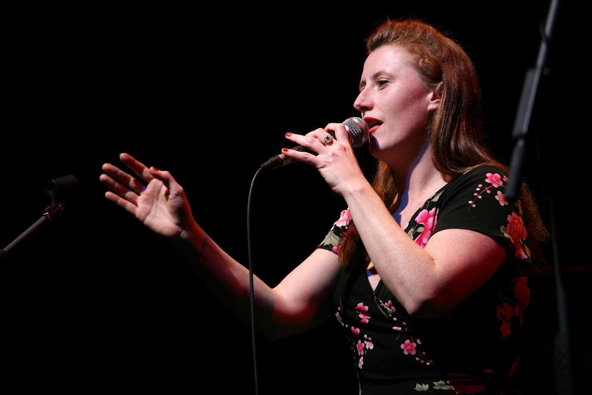 Julie O'Hara singing