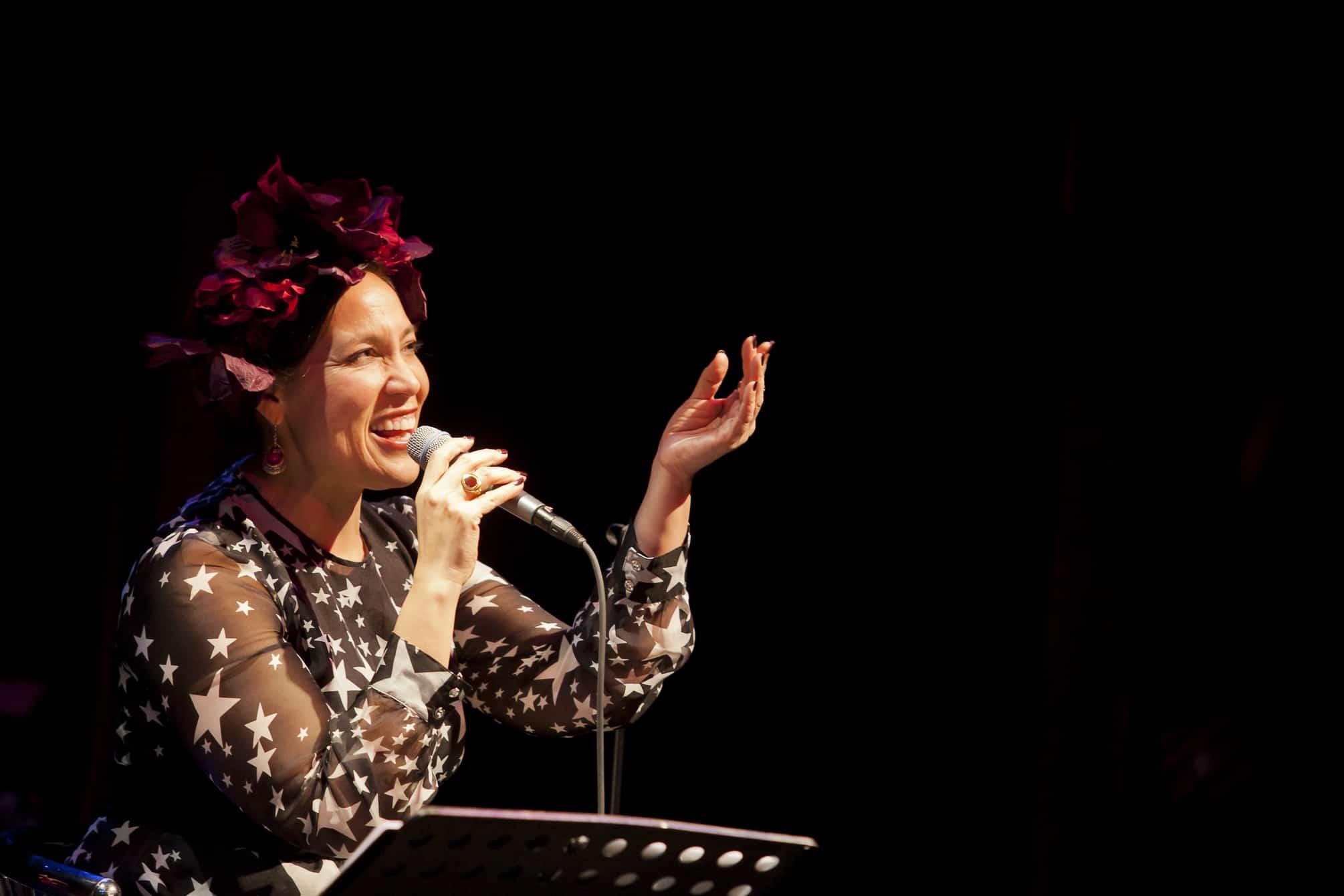 Kate Ceberano singing