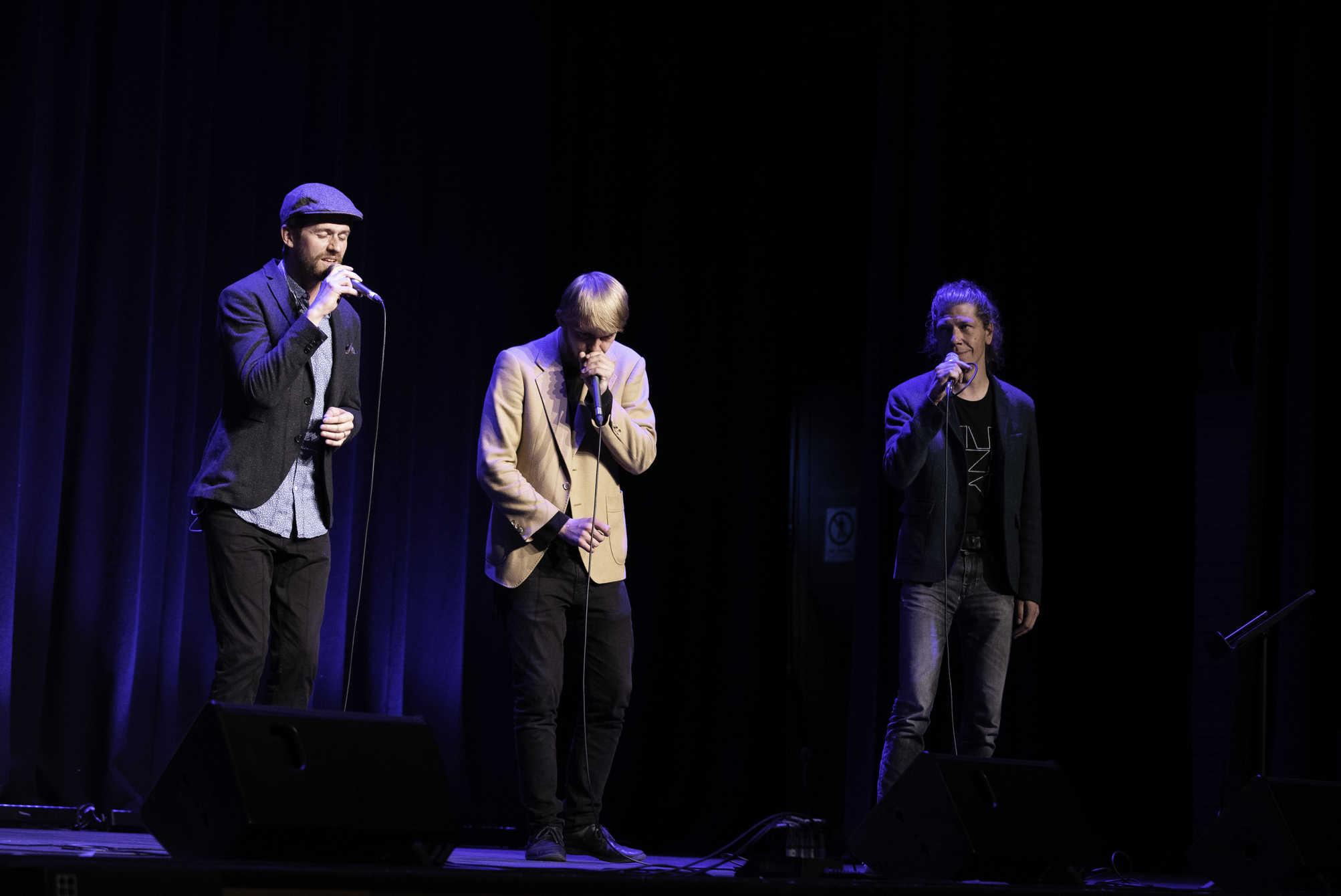 three male singers