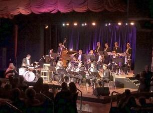 Matthew Ives Big Band on stage