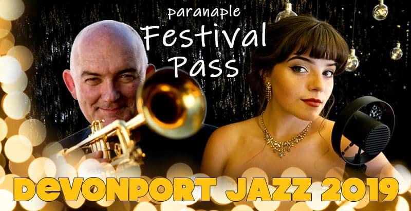 Devonport Jazz Festival Pass for 2019