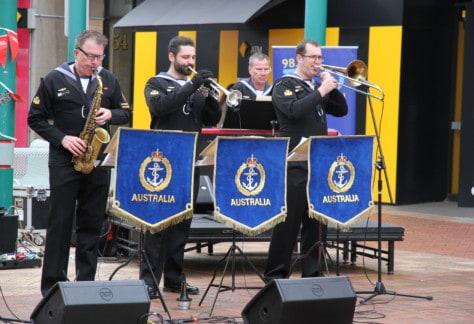 Royal Australian Navy Group Melbourne