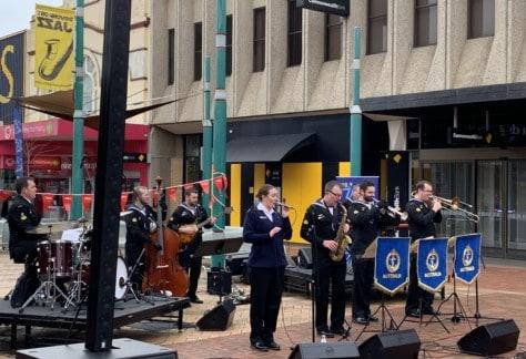 Royal Australian Navy Band Mlebourne