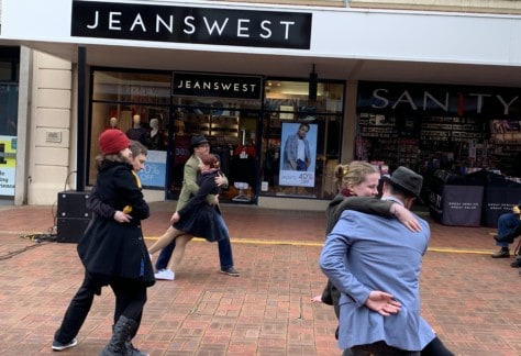 SwingMania - Musos in the Mall